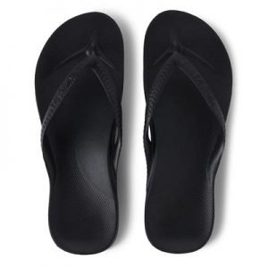 Archies Arch Support Thongs (Black)