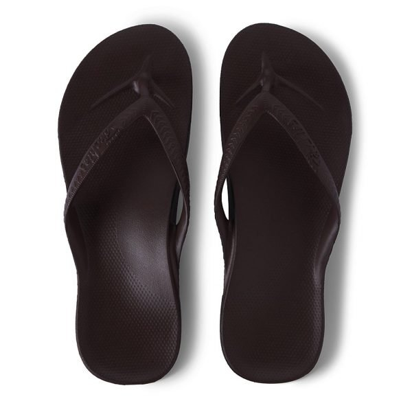 Archies Arch Support Thongs (Brown)