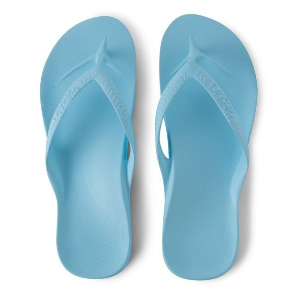 Archies Arch Support Thongs (Sky Blue)