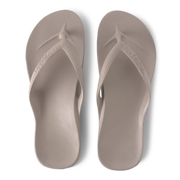 Archies Arch Support Thongs (Taupe)