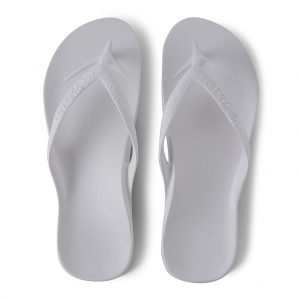 Archies Arch Support Thongs (White)