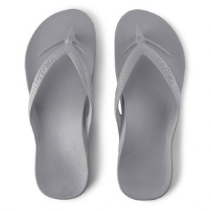 Archies Arch Support Thongs (Grey)
