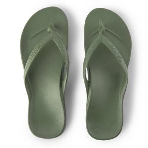 Archies Arch Support Thongs (Khaki)